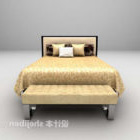 Grey Soft Bed With Daybed