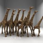 Gruppo Scultura Giraffa