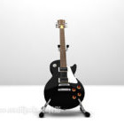 Rock Black Electric Guitar
