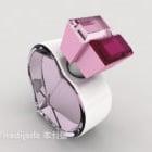 Sydänmuotoiset timanttikorut
