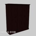 Solid Wood Four-door Wardrobe