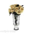 Home Bouquet Decoration Flower Vase