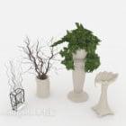 Home Plant Vase Decoration
