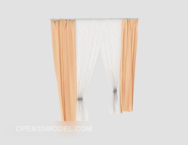 Home Light Color Curtain