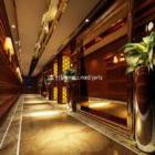 Hotel Lobby Night Interior