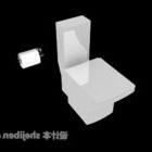 Hotel Flush Toalett