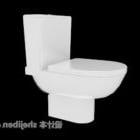 Wspólny styl toalety hotelowej