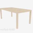 Rectangular Coffee Table Wooden