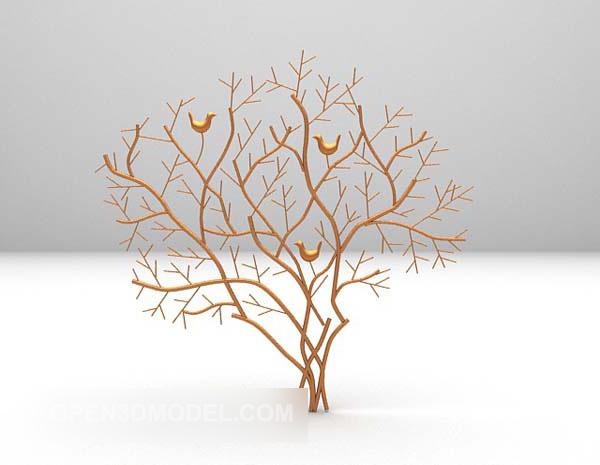 Indoor Tree Furnishings Decor