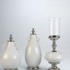 Zestaw świeczników w stylu europejskim