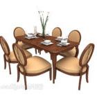 طاولة طعام جين أو هوم ستايل