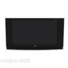 LG svart platt tv