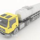 Duża Ciężarówka Cargo Ze Zbiornikiem