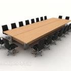 مادة خشبية كبيرة للمكتب