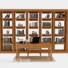 خزانة خشبية منزل كبير من المواد