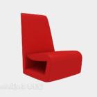 Canapé paresseux couleur rouge
