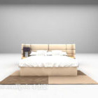 Letto Queen Size in pelle