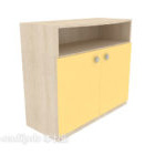 Light-colored Home Side Cabinet