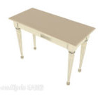 Light-colored Wooden Home Side Table