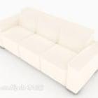 Light-colored Multi Seaters Sofa Design