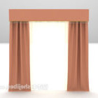 Light Orange Curtain Furniture