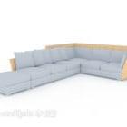 Set di divani serie leggera