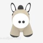 Little Donkey Stuff Toy