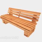 Park Bench Log Furniture
