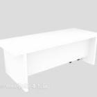 طاولة Longwood Mdf بيضاء