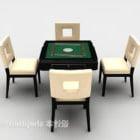 Chinesische Mahjong Spieltischmöbel
