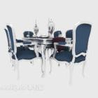 Jídelní stůl ve středomořském stylu