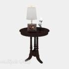 Boční stolek ze dřeva ve středomořském stylu