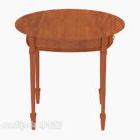 Rozkládací stolek ve středomořském stylu