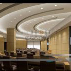 Meeting Space With Ceiling Decoration Interior