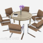 Meeting Table Chair Set