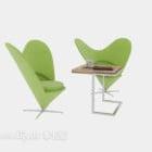 Milk Tea Shop Leisure Table Chairs