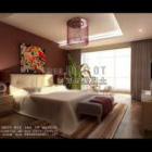 Nowoczesna sypialnia w wspólnym stylu