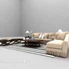 Modern Light-colored Sofa Furniture