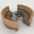 Nowoczesne minimalistyczne krzesło stołowe z kartą