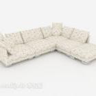 Moderne mønstermultiplayer sofa
