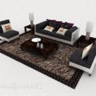 Modernes Persönlichkeitstuch-Sofa