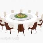 Hochzeitsrunder Tischstuhl