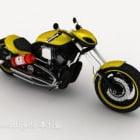 Reka Bentuk Moto Racing Chopper