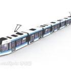 Subway Train Public Vehicle