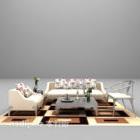 Combinazione di divani multi-posti di grandi dimensioni