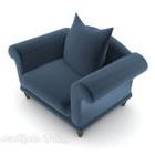 أريكة الشمال الأزرق واحد