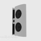Stylized White Speaker
