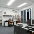 Innenraum der Bürofirma