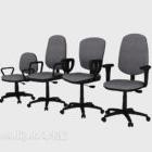 Collezione di dimensioni differenza sedia da ufficio