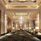 Luksusowy styl lobby kompleksu biurowego